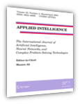 Applied Intelligence, ISSN 0924-669X