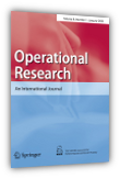 Operational Research: An International Journal, ISSN 1109-2858